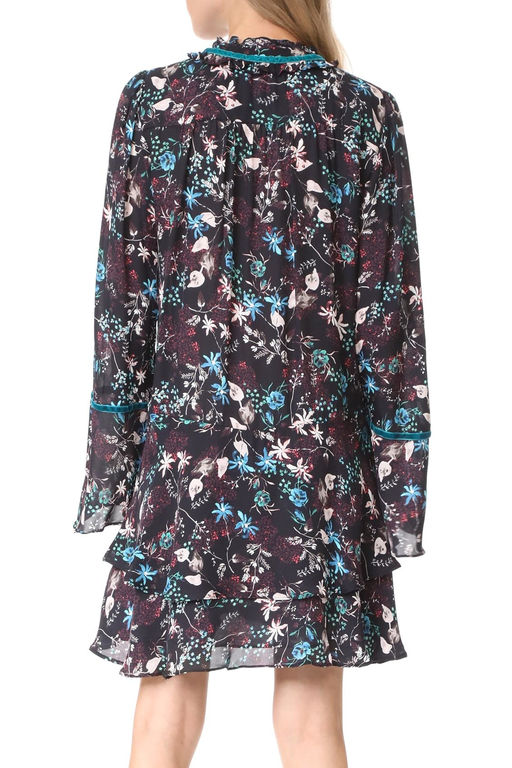 Parker Adelle Longsleeve Dress - Front Full Image