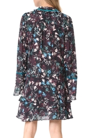 Parker Adelle Longsleeve Dress - Front full body