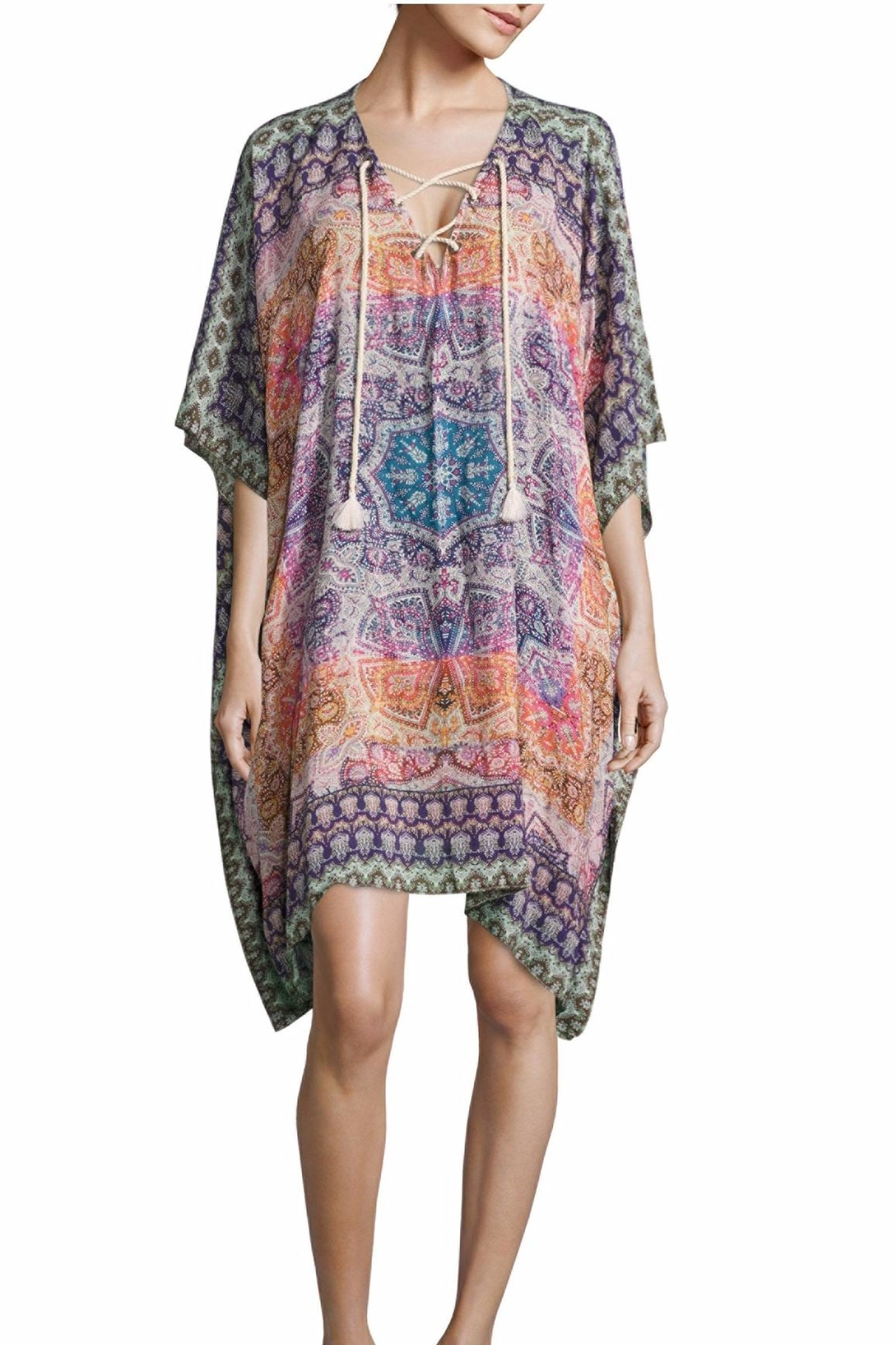 Parker Altamira Beach Coverup - Front Cropped Image