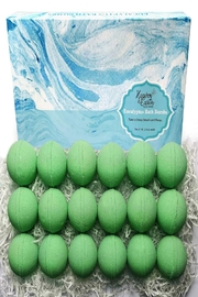 Parker Bath Bomb Gift Sets For Men. 18 Therapeutic Eucalyptus Bath Bombs For Sore Muscles - Front cropped