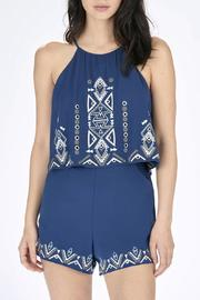 Shoptiques Product: Blanche Embroidered Romper
