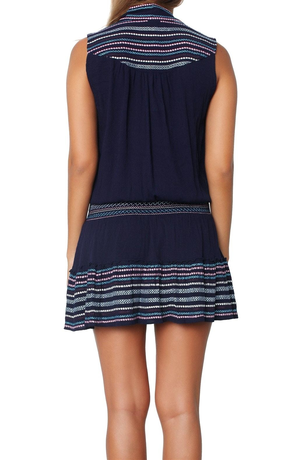 Parker Drew Raven Dress - Back Cropped Image