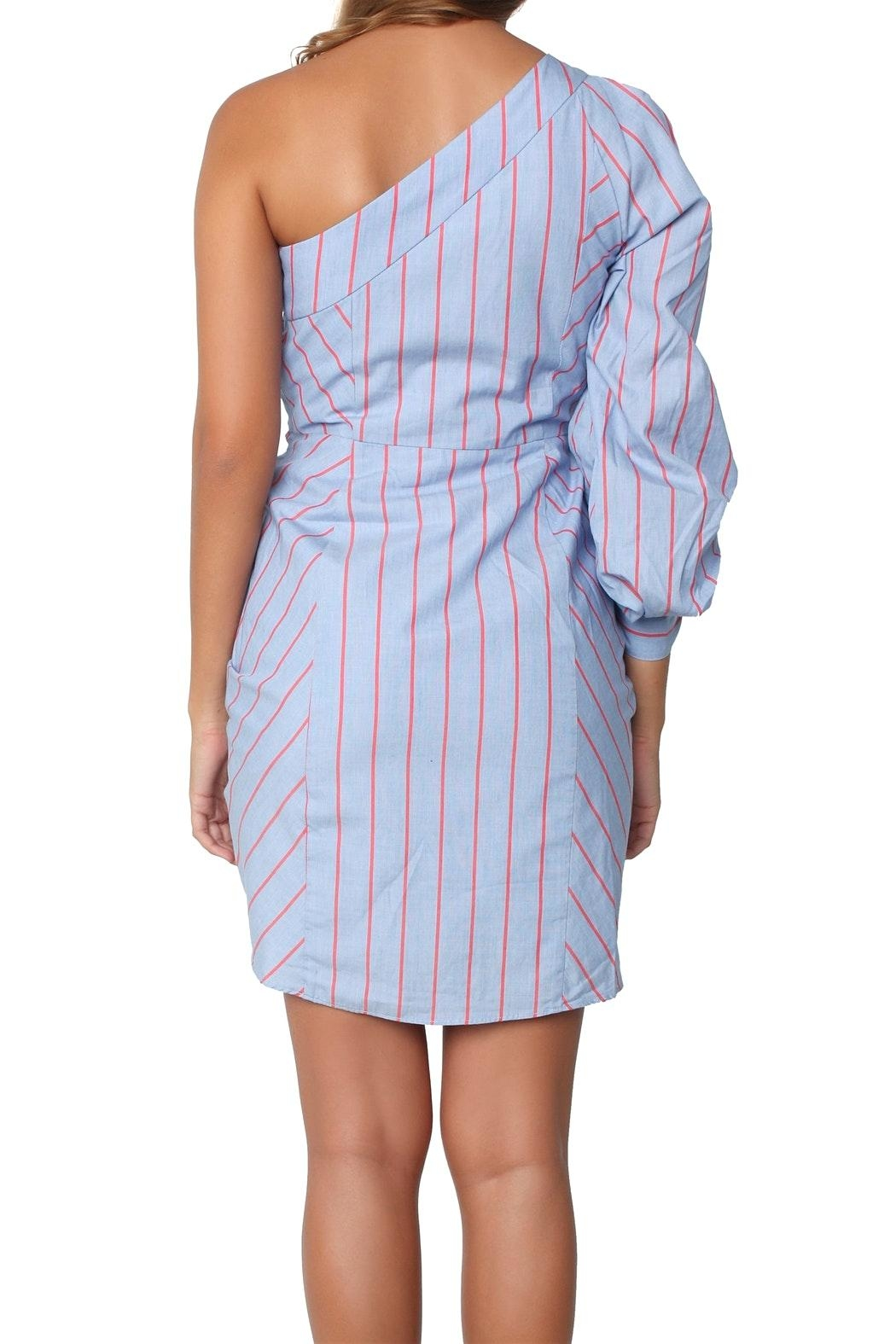 Parker Harmond Dress Blue - Front Cropped Image