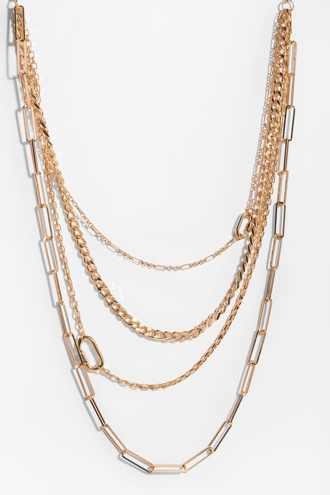 Saachi Parker Layered Necklace - Side Cropped Image