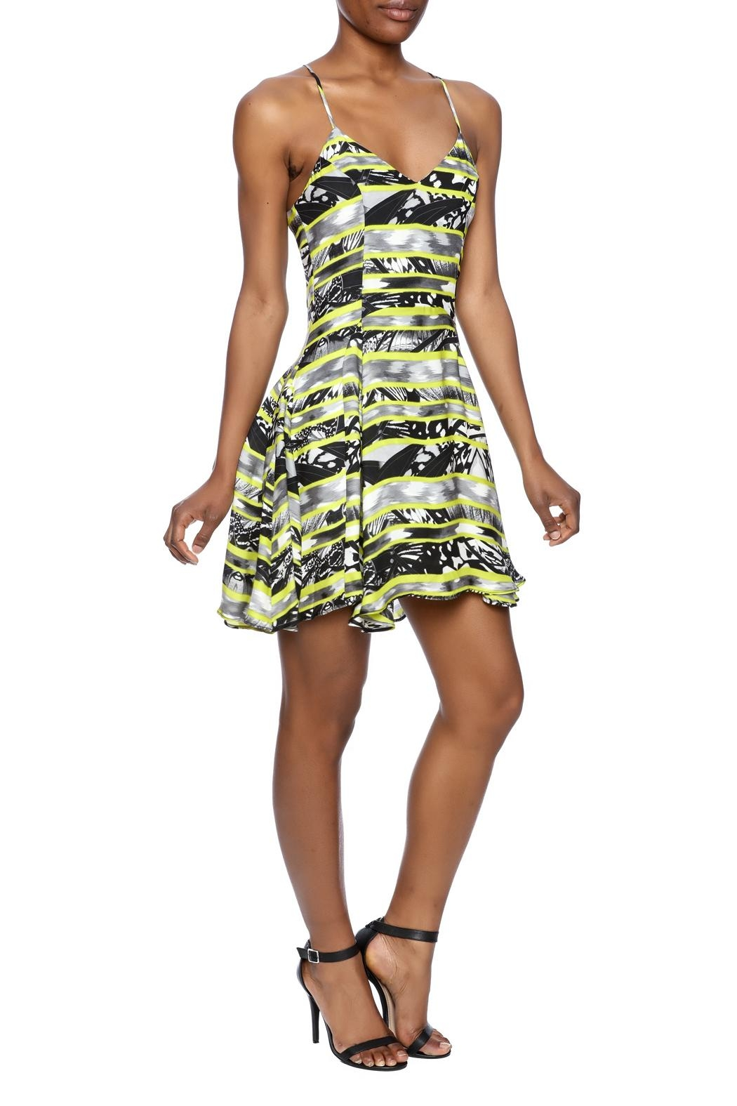 Parker Quintin Dress - Side Cropped Image