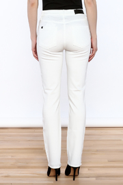 Shoptiques Product: White Skinny Jean - Back cropped