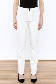 Parker Smith White Skinny Jean - Side cropped