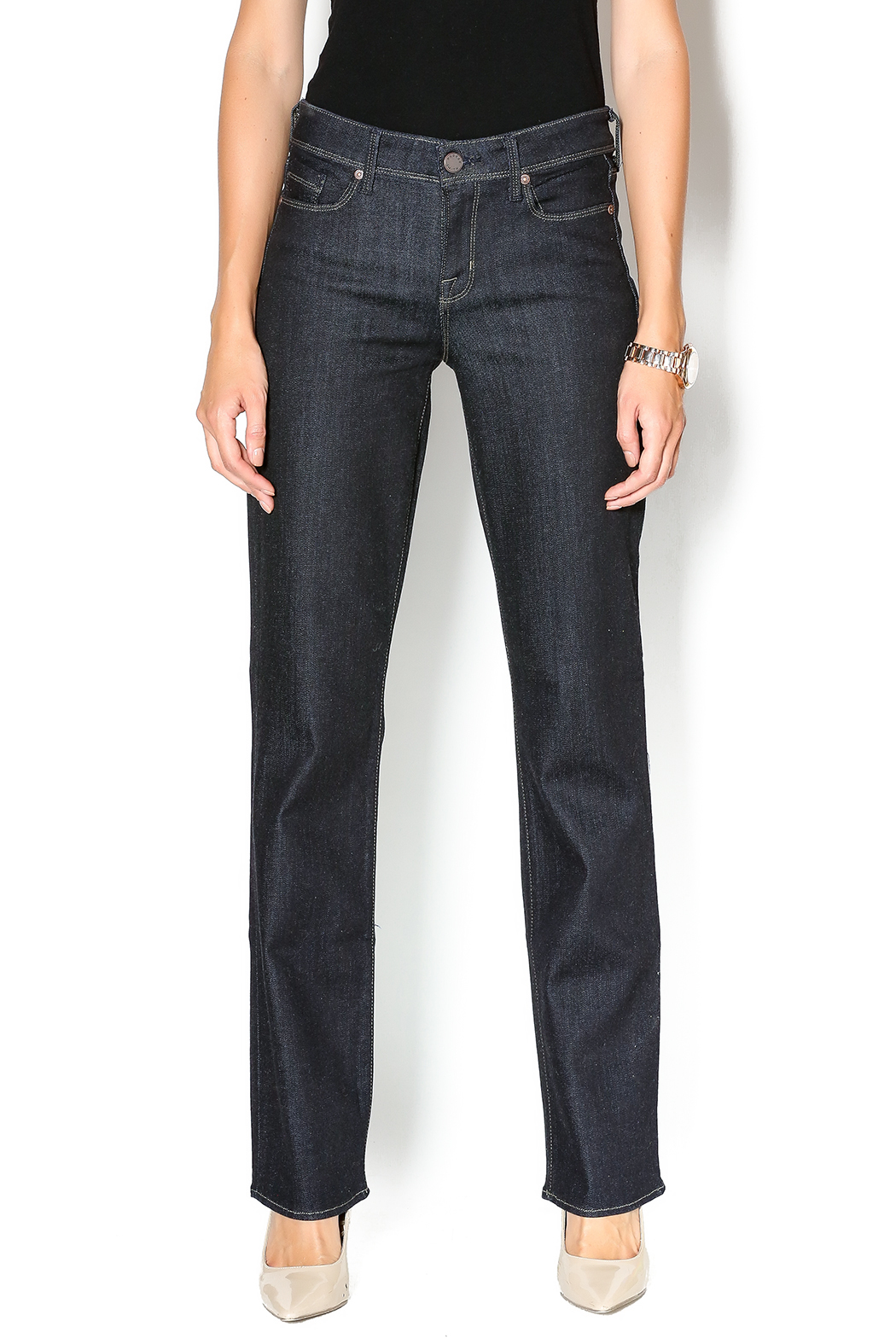 Parker Smith Lynn Straight Jean - Front Cropped Image