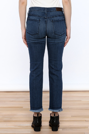 Parker Smith Sharkbite Straight Jean - Back cropped