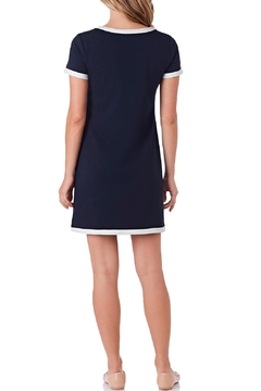 Jude Connally Parker Stretch-Crepe T-Shirt-Dress - Alternate List Image