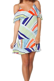 Parker Thatcher Striped Dress - Product Mini Image
