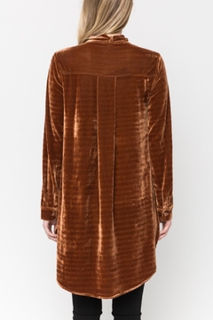 Mystree Parker Velvet Blouse - Alternate List Image