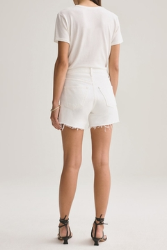 AGOLDE Parker Vintage Cut Off Short In Tissue - Alternate List Image