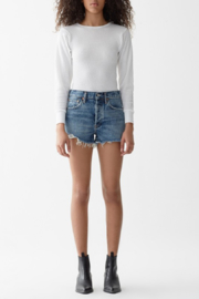 AGOLDE Parker Vintage Cutoff Short in Rock Steady - Product Mini Image
