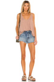 AGOLDE Parker Vintage Cutoff Short in Swapmeet Dark - Product Mini Image