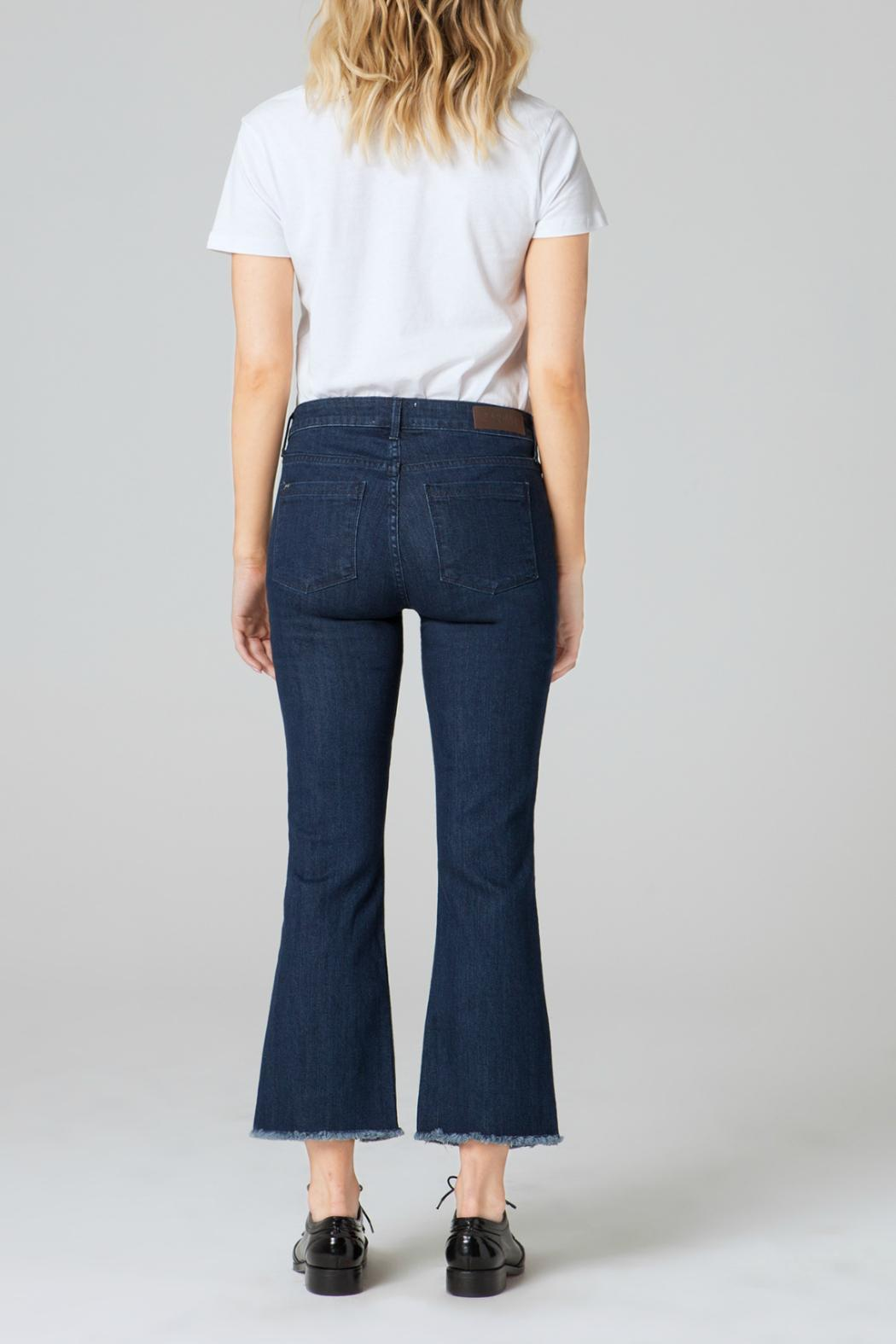 Parker Smith Cropped Flare Jean - Front Full Image