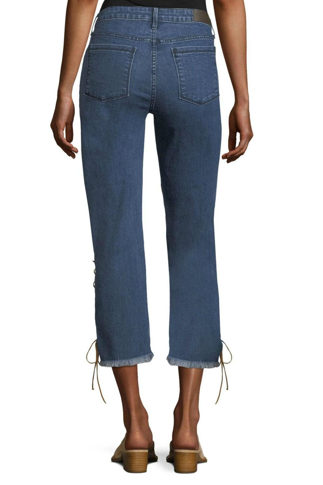 Parker Smith Lace Up Jean - Front Full Image