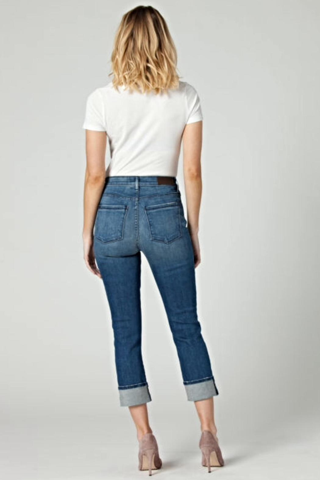 Parker Smith Pin Up Straight Jeans - Front Full Image
