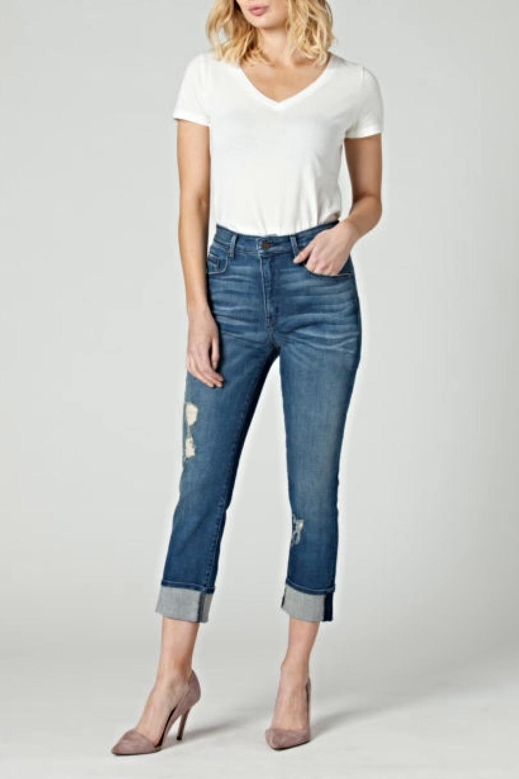 Parker Smith Pin Up Straight Jeans - Main Image