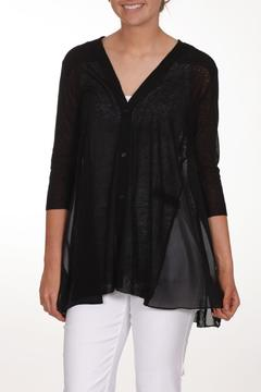 Shoptiques Product: Black Knit Cardigan