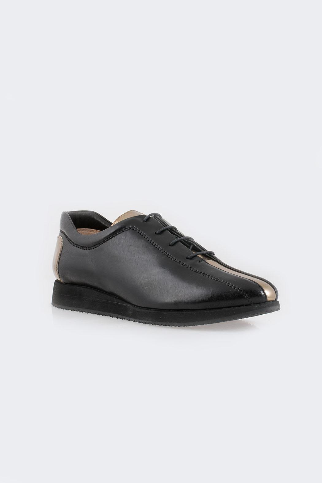Parlanti Black Sneakers - Side Cropped Image