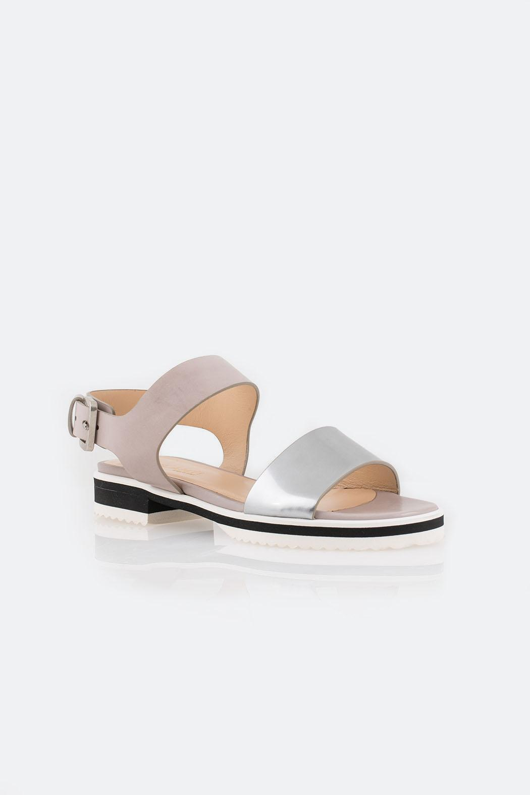 Parlanti Grey Sandal - Side Cropped Image