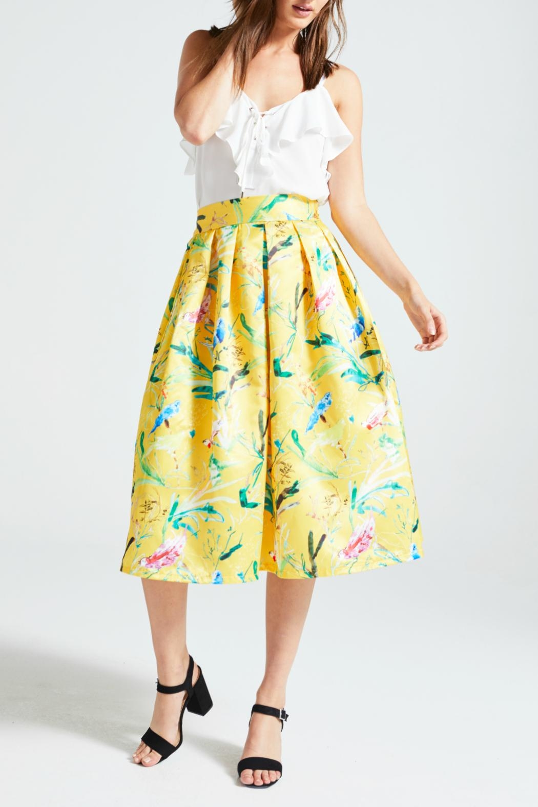 Angeleye London Parlote Skirt - Front Cropped Image