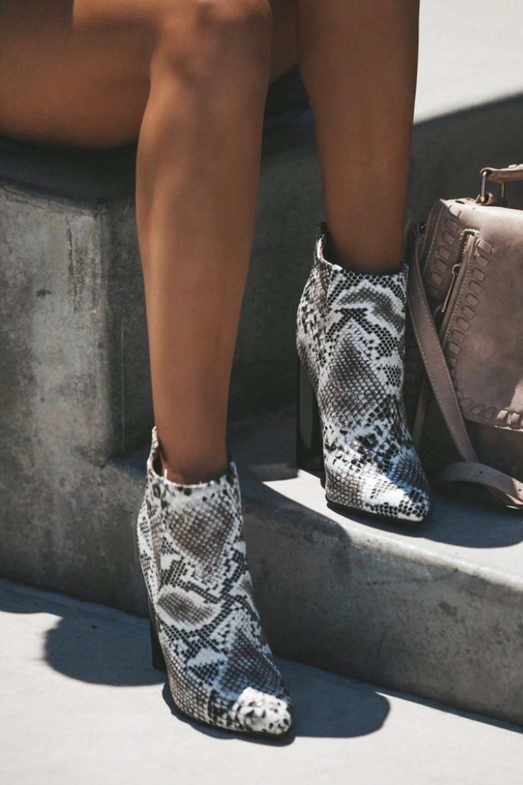Qupid Parma Booties - Front Full Image