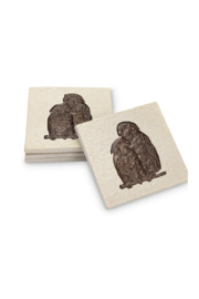SPI-Home Parrot Coaster Set - Product Mini Image