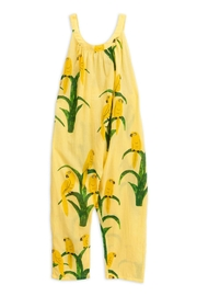 Mini Rodini Parrot Dungarees - Front cropped