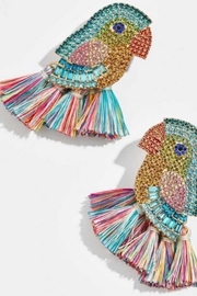 Yipsy Parrot Earring - Front cropped