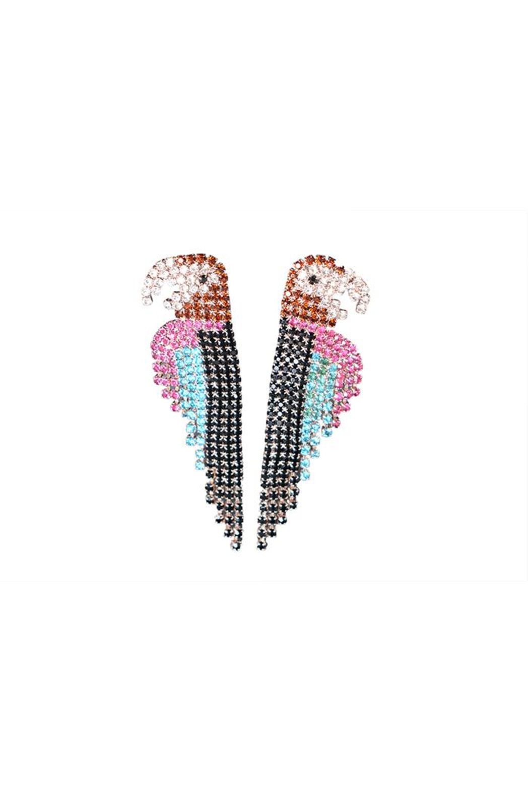Madison Avenue Accessories Parrot Earring - Main Image