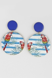 Bag Boutique Parrot Earrings - Product Mini Image