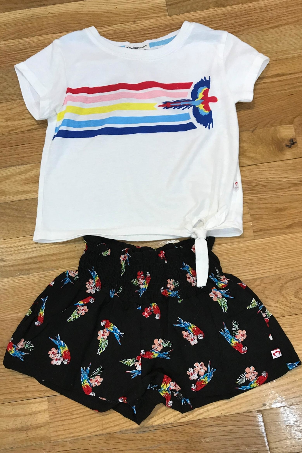 Appaman Parrot Flower Shorts - Main Image
