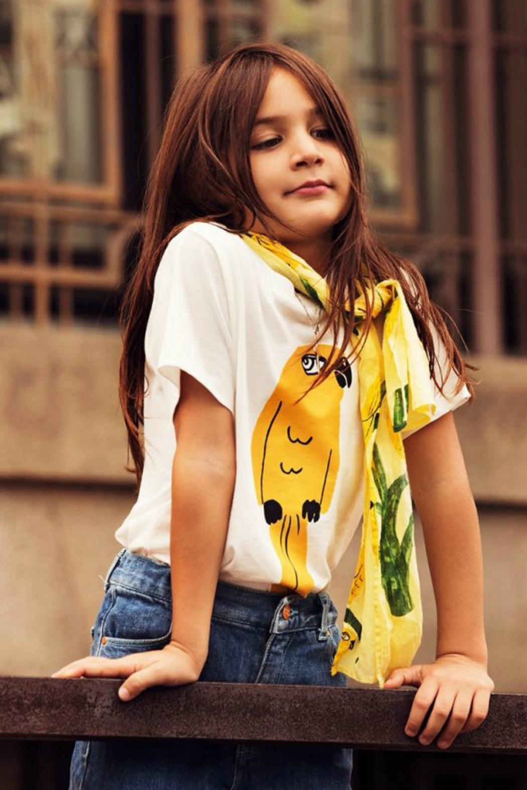Mini Rodini Parrot T-Shirt - Side Cropped Image