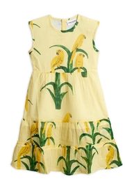 Mini Rodini Parrot Woven Dress - Product Mini Image