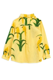 Mini Rodini Parrot Woven Shirt - Front full body