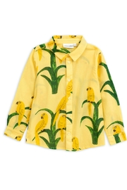 Mini Rodini Parrot Woven Shirt - Product Mini Image