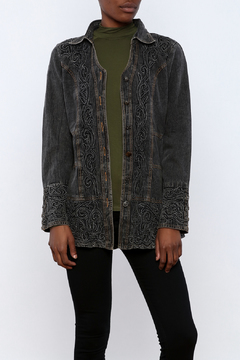 Parsley & Sage Ebony Denim Jacket - Product List Image