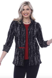 Parsley and Sage Kendra Reversible Shirt Jacket 20W247G3 - Product Mini Image