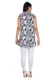 Parsley and Sage  Lacy Sleeveless Top - Front full body