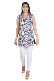 Parsley and Sage  Lacy Sleeveless Top - Product Mini Image