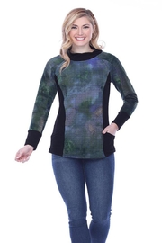 Parsley & Sage Abstract Knit Top - Product Mini Image