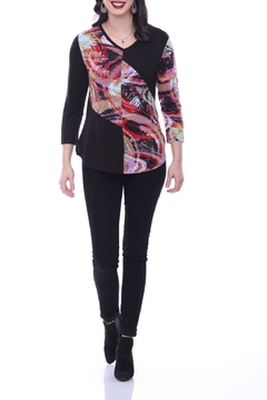 Shoptiques Product: Abstract Panel Tunic Top