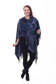 Parsley & Sage Blue Abstract Cape - Product Mini Image