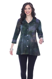 Parsley & Sage Button-Up Knit Tunic - Product Mini Image