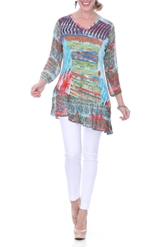 Parsley & Sage Chiffon Printed Tunic - Product List Image