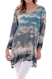 Parsley & Sage Clouds Tie Dye Shirt - Product Mini Image