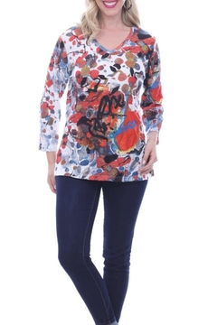 Shoptiques Product: Colorful Crinkle Top