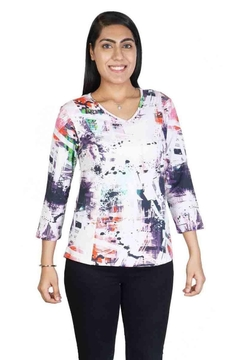 Parsley & Sage Colorful Stretch Top - Alternate List Image